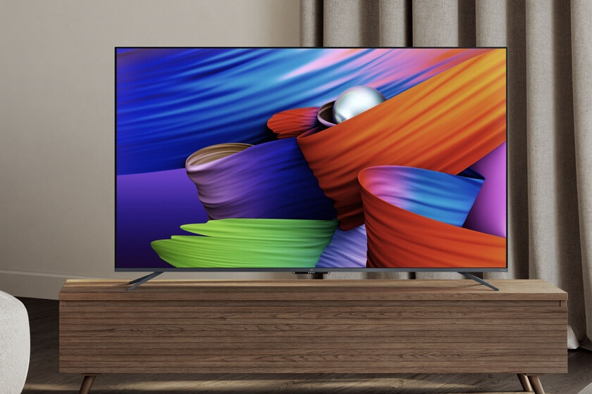 OnePlus TV U1S: new 4K LED TV with HDMI 2.1 and Android TV to stand up in the mid-range