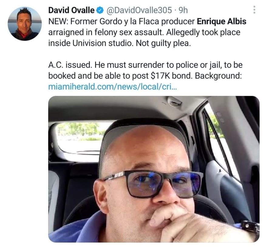 1623848748 522 Arrest Enrique Albis Scandal in El Gordo y la Flaca
