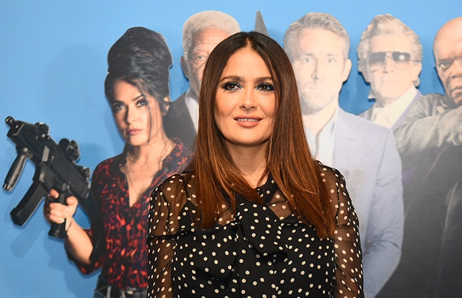 Salma Hayek puts Hollywood on the ropes talking about menopause