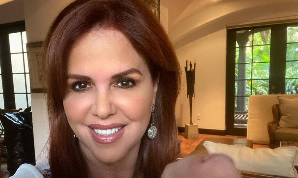 María celeste returns to television after ten months of her dismissal from Telemundo