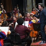 The young orchestra Dudamel will start a tour at the Prado Museum