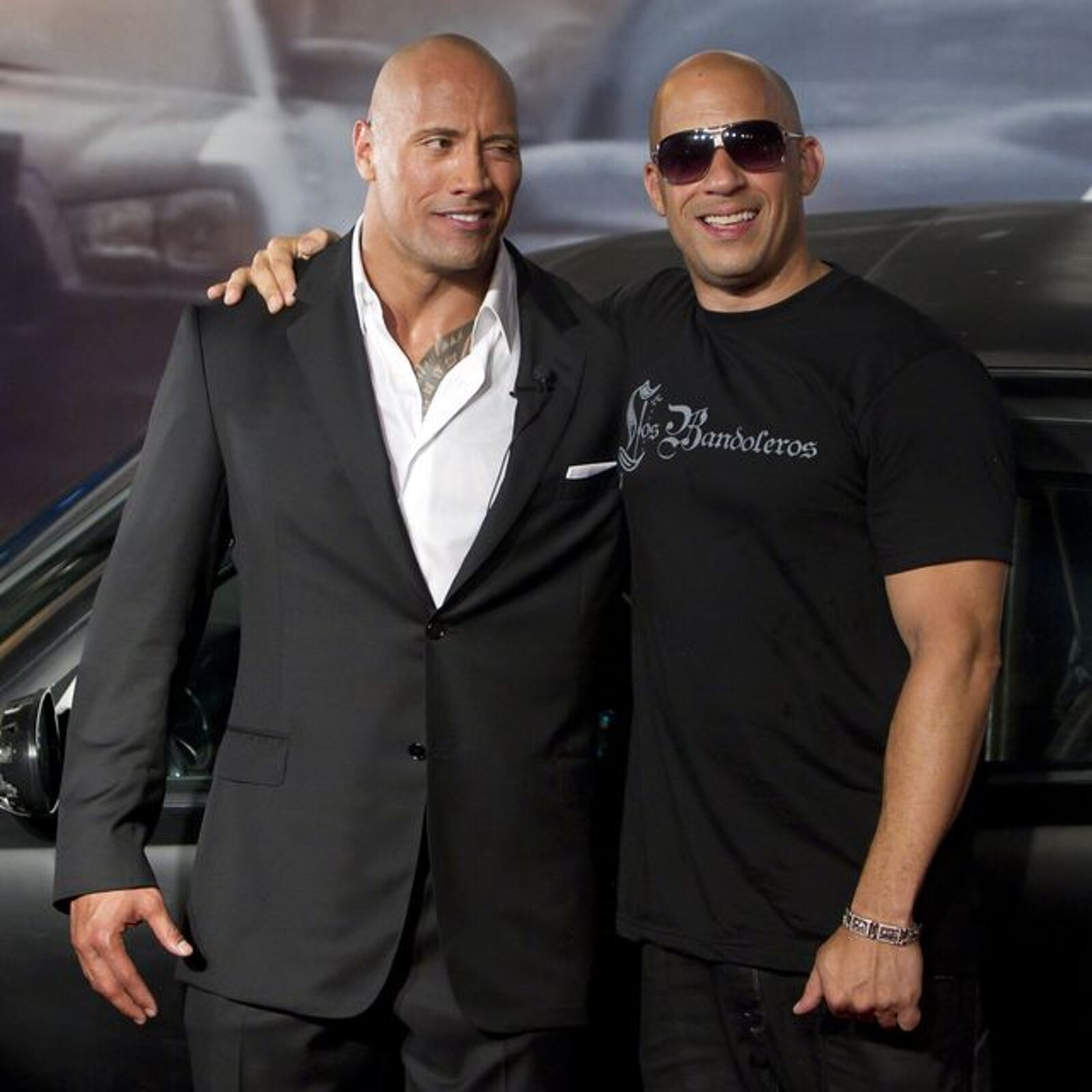 """Vin Diesel had to apply """"heavy hand"""" with Dwayne Johnson in 'Fast and Furious'"""