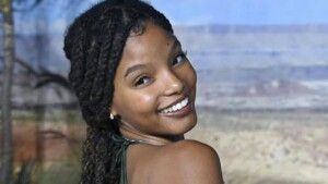 First look at Halle Bailey as Ariel in live-action movie The Little Mermaid