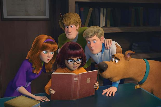 The quintessential cowardly dog Scooby Doo returns in this computer graphics movie, which also features other classic Hanna-Barbera characters like the Blue Falcon. The film features the voices of actors such as Mark Wahlberg, Gina Rodriguez, and Zac Efron. (Source: HBO Max)