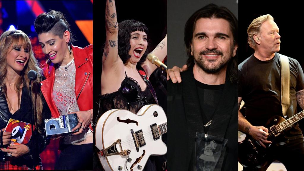 Latino artists to pay tribute to Metallica hits
