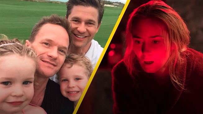 A Quiet Place 2 Neil Patrick Harris daughter couldnt sleep