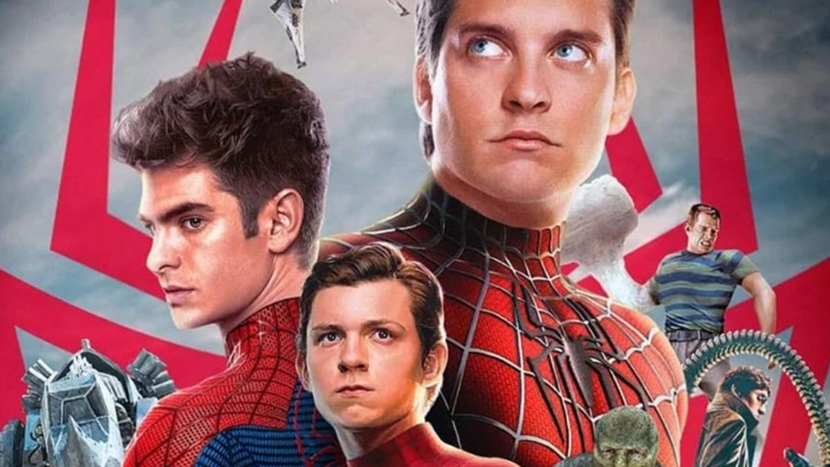 A fan creates a Spider man No Way Home poster featuring