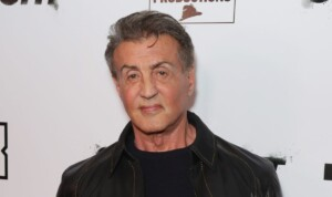 A la Rocky Sylvester Stallone shows his training and social