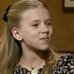 A video of Scarlett Johansson as a child has gone viral because she was very smart
