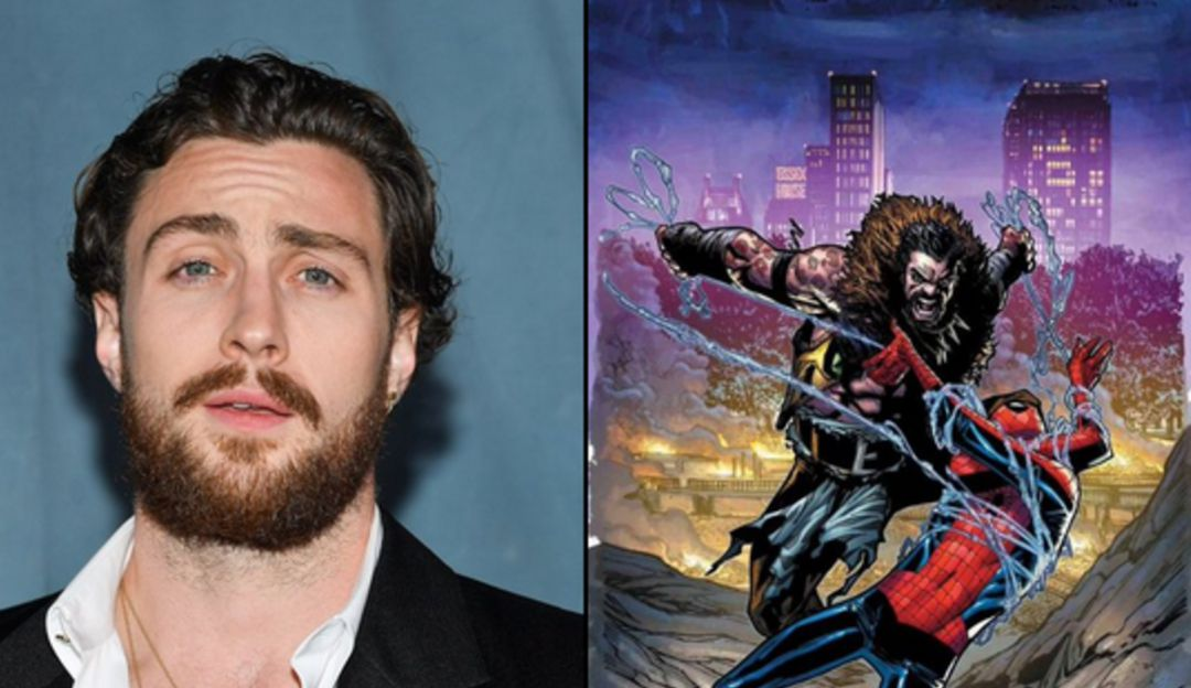Aaron Taylor-Johnson to play 'Kraven the Huntsman' in Spider-Man spin-off