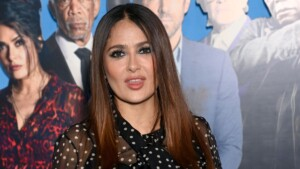 After defeating the covid, Salma Hayek premieres 'Hitman's Wife's Bodyguard'