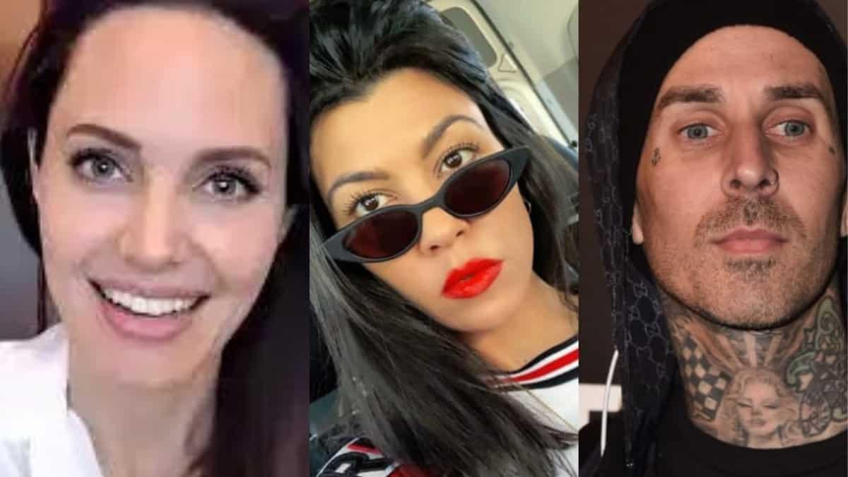 Angelina Jolie inspired Kourtney Kardashian and Travis Barker