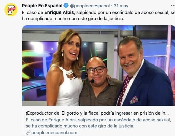 Arrest Enrique Albis, El Gordo and La Flaca