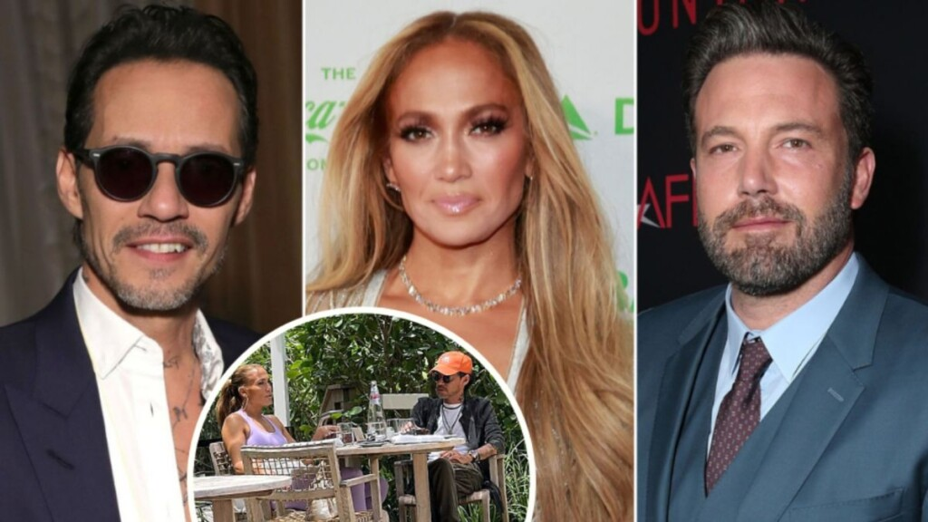 Ben Affleck leaves Miami and Jennifer Lopez reunites with Marc