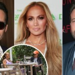 Ben Affleck leaves Miami and Jennifer Lopez reunites with Marc Anthony
