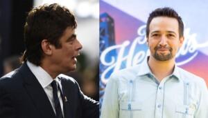 Benicio del Toro defends Lin Manuel Miranda on the absence of
