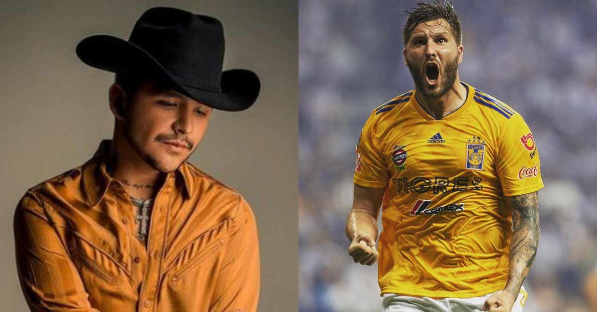 """""""Bottle after bottle"""": they captured Tigres players in a Christian Nodal concert"""