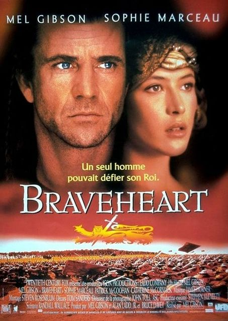 Braveheart and Mel Gibson saved Hollywood with his kilt and