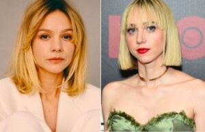 Carey Mulligan and Zoe Kazan in the shoes of the