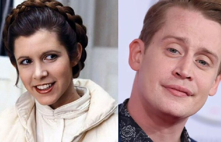Carrie Fisher Macaulay Culkin and more artists to star on