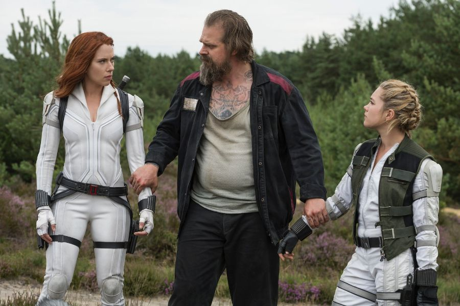 Check out the first reactions on the Black Widow movie - The Third