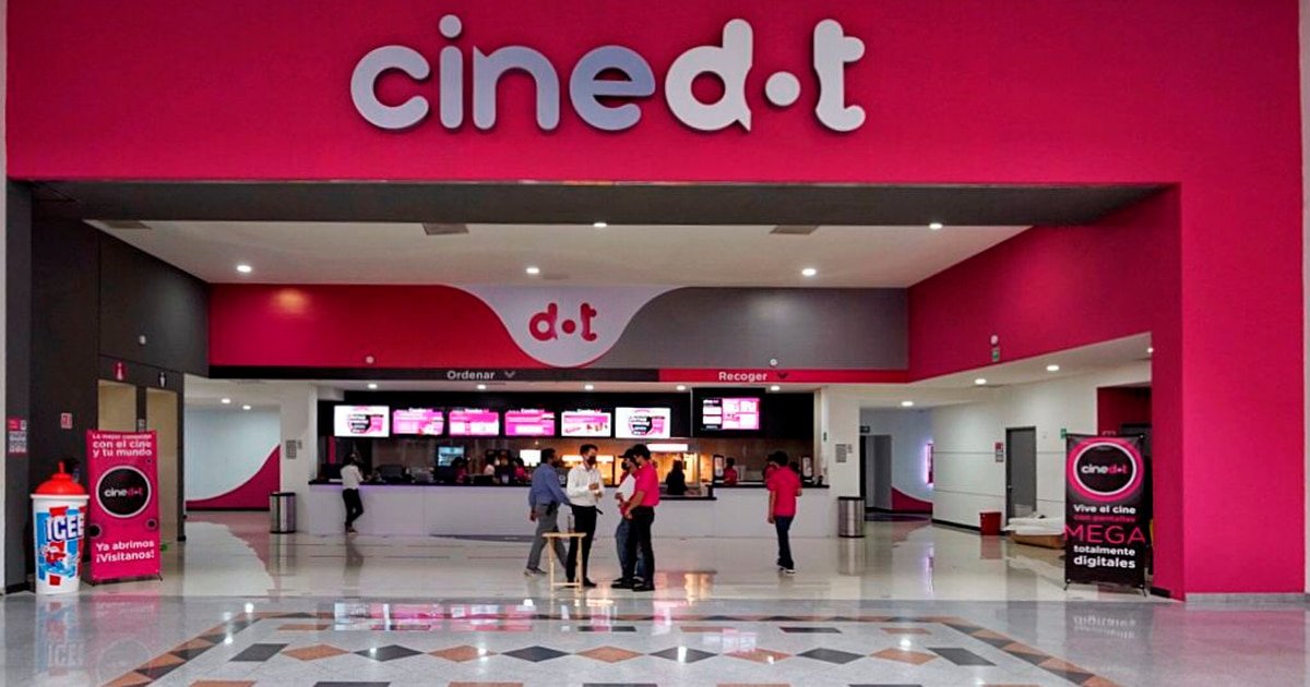 CineDOT the new cinema chain in Mexico that will compete
