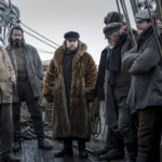 Colin Farrell is unrecognizable in the new films of the arctic drama the North Water