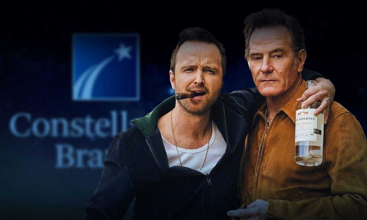 Constellation Brands invests in the mezcal of actors Aaron Paul and Bryan Cranston