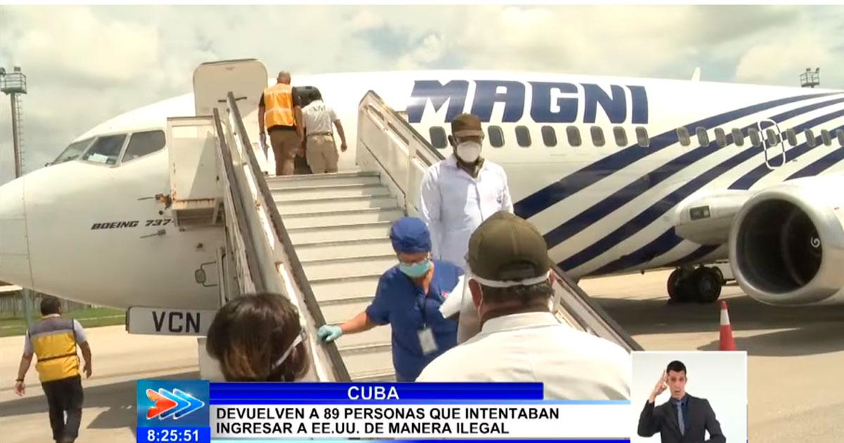 Cuban television shares testimonies of migrants deported by Mexico