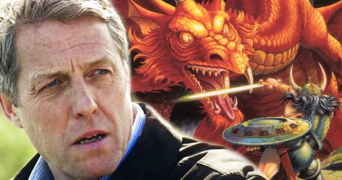 Dungeons & Dragons Set photos reveal first look at Hugh Grant and Michelle Rodriguez