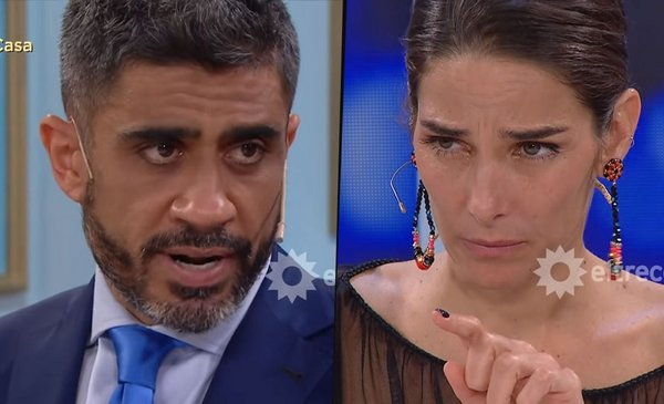"""El Negro Bulos made a fool of Juana Viale in El Trece: """"Let me breathe"""""""
