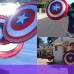 Fan of Captain America recreates his shield; bounces the same as the original
