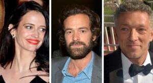 Fontainebleau Cinema become an extra alongside Eva Green Romain Duris