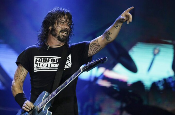 Foo Fighters and their exclusive show for vaccinated An idea