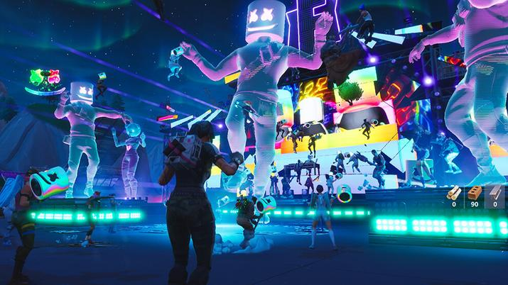 Fortnite will host another concert by a royal group