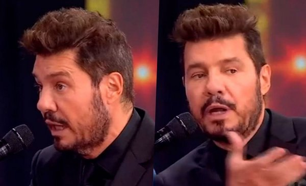 He resigned from ShowMatch and Tinelli rushed him live I