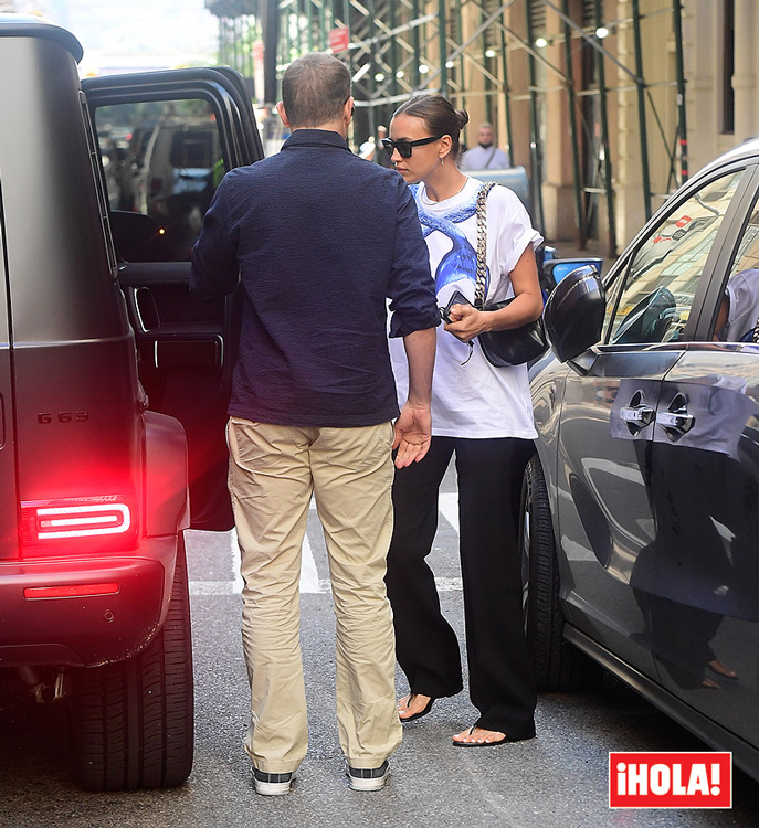 Irina Shayk and Bradley Cooper, two exes with good harmony after the photos of the model with Kanye West