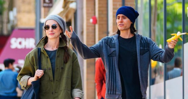 Jared Leto and Anne Hathaway together for the first time