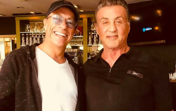 """Jean-Claude Van Damme: """"Sylvester Stallone is the actor who impressed me the most"""""""