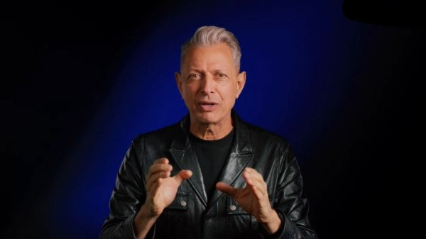Jeff Goldblum is in charge of presenting Jurassic World Evolution