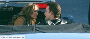 Jennifer Lopez and Ben Affleck finally the kiss Gala