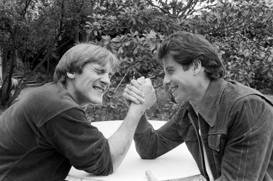 John Travolta and Gerard Depardieu their friendship in photos