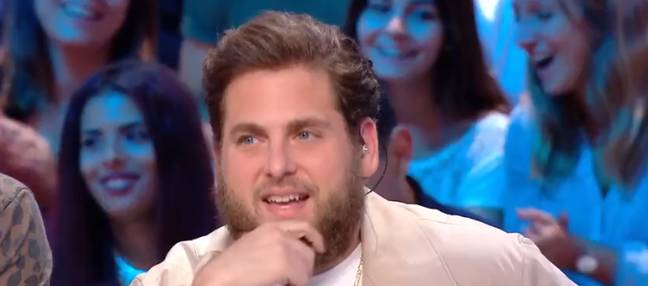 Jonah Hill looks shocked in awkward French interview