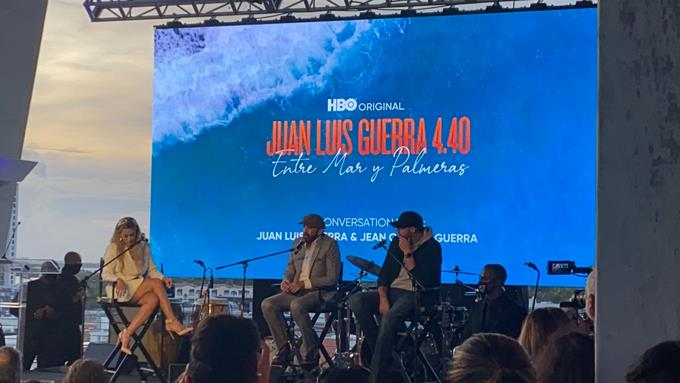 Juan Luis Guerra goes to Miami to promote his concert