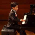 Juan Miguel Saboya, the eight-year-old Colombian pianist who participates in international music competitions
