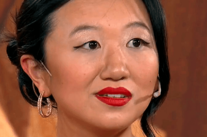 Karina Gao spoke of the farewell video she recorded for
