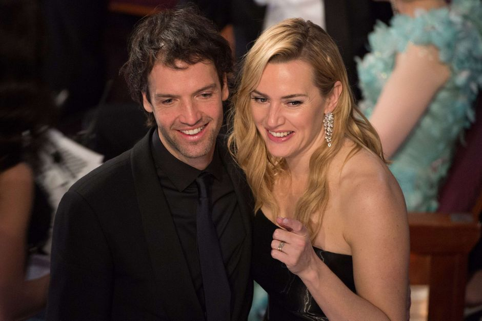 Kate Winslet, simple happiness with Abel Smith