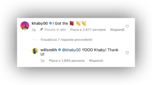 Khaby Lame and Will Smith, collaboration in sight: what they wrote on Instagram