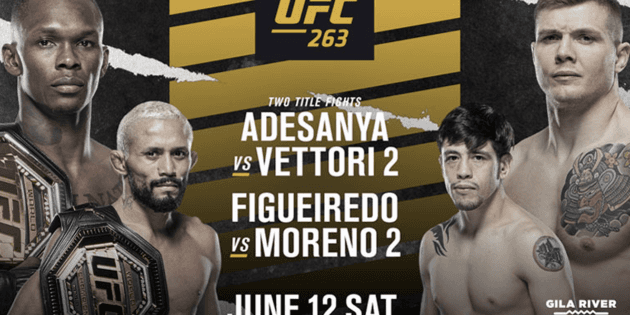 LIVE | UFC 263 | Israel Adesanya vs. Marvin Vettori | Time, TV channel and complete billboard | TODAY | ON-LINE