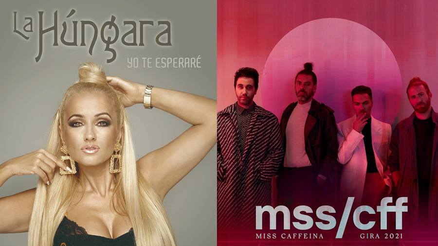 La Hungara and Miss Caffeina will be the concerts of